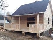 Строительство домов,  бань,  беседок из проф. бруса. Пинск - foto 0