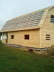 Строительство домов,  бань,  беседок из проф. бруса. Пинск - foto 1