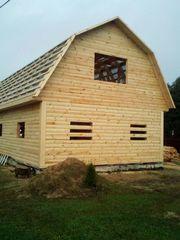 Строительство домов,  бань,  беседок из проф. бруса. Пинск - foto 2